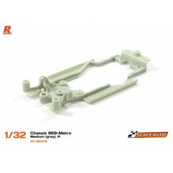 Chassis R para Porsche 959 e MG Metro Medium Grey