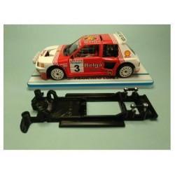 Chassis linear Peugeot 205 T 16 Spirit preto