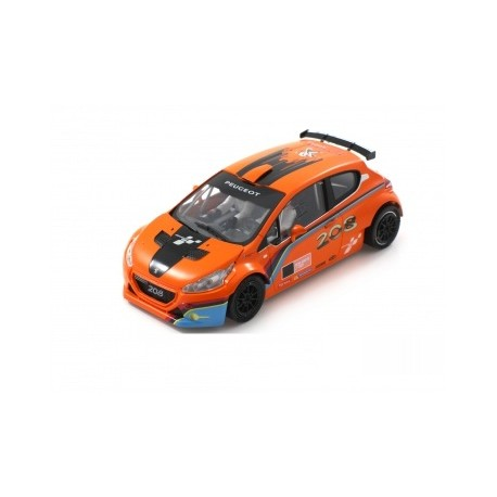 Peugeot 208 T16 Cup Edition Laranja/Preto R-Version AW