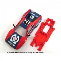 Chassis Block lineal Ferrari GTO normal (Comp. Scaletrix)