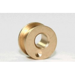 "Excentric Brass Bearing 0,3 mm for 2,38mm (3/322"") axle"