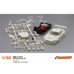 MB-A GT3 White Racing Kit Anglewinder In-Flex Chasis