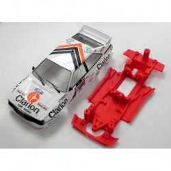Chassis Audi Quattro in line compatible com Fly