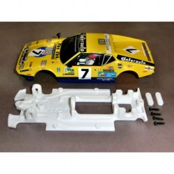 Linear De Tomaso Pantera chassis compatible with MSC / Scaleauto