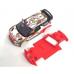 Chassis DS3 AW EVO rallI compatível Scalextric