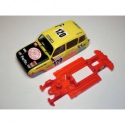 Chasis Renault 4 Block Lineal EVO compatible Scalextric