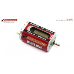 Motor SC-30 Outlaw Active Cooling System 35000 rpm, 0,41 Amp. 400 gr* cm, LONG-CAN Size: 32x20x15.3mm. Sealed Endbell