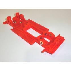 Chassis 131 completo in line (comp SCX) MUSTANG