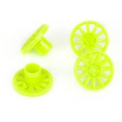 Tapacubos 15.5mm verdes