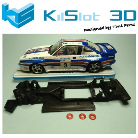 Chassis lineal RACE SOFT 2017 Opel Manta 400 Avant
