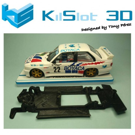 Chassis lineal black BMW M3 E30 Fly