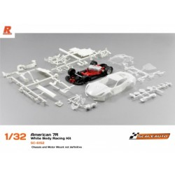 CORVETTE C7R GT3 WHITE RACING KIT ANGLEWINDER SCALEAUTO SC 6152