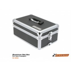Aluminium Slot Box car transport 37 x 25 x 16cm
