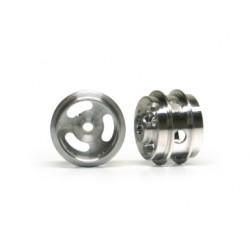 Jante Pro Alumínio 15.8X10mm. Perfurada (PA49ALH)